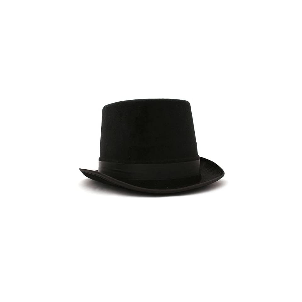 9177a00a651 Deluxe Black Felt Top Hat on PopScreen