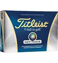 Titleist NXT Tour S Golf Ball Dozen Box