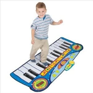 Amazon Com Toy Game Winfun Step To Play Giant Piano Mat