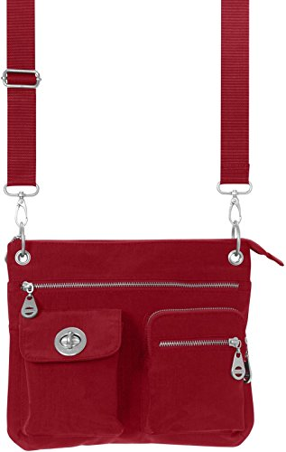 baggallini-lightweight-top-zip-crossbody-handbag-bag-various-colours-sydney-icb-475-red