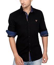 Ecohawk Blue Casual Slim Fit Shirt 8065-E