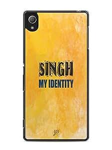 YuBingo Singh My Identity Mobile Case Back Cover for Sony Xperia Z3 Plus