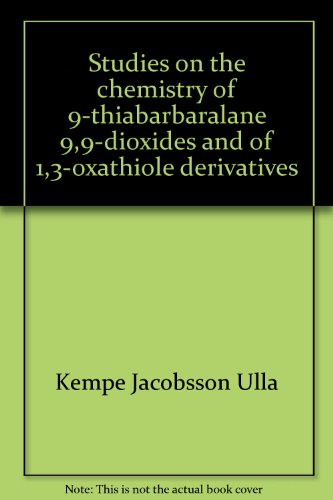 studies-on-the-chemistry-of-9-thiabarbaralane-99-dioxides-and-of-13-oxathiole-derivatives