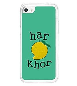 Haram Khor 2D Hard Polycarbonate Designer Back Case Cover for Apple iPhone 5C