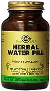 Solgar Herbal Water Pill Vegetable Capsules 100 Count