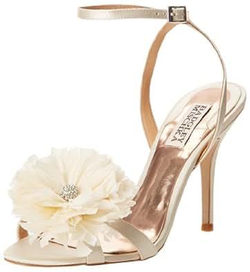 Badgley Mischka Women's Karol Dress Sandal,Ivory,6 M US