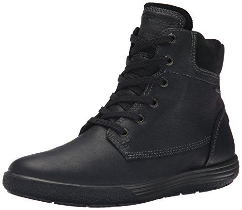 ECCO CHASE II, Damen Combat Boots, Schwarz (BLACK/BLACK), 41 EU (7.5 Damen UK)
