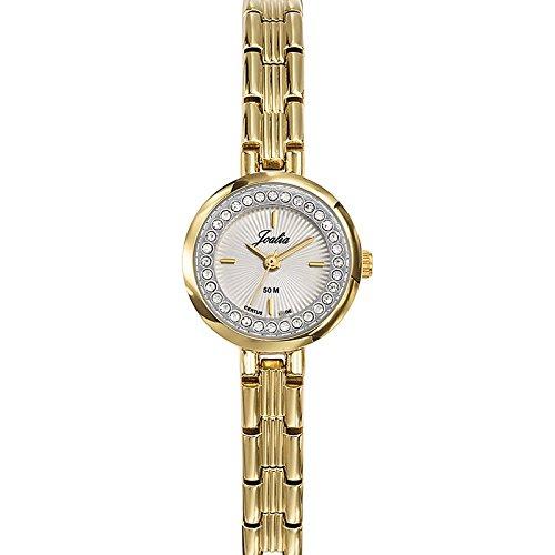 Joalia-631936-Orologio da donna con cinturino in metallo con quadrante, colore: dorato