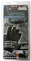 Schiek Platinum Gel Lifting Gloves w Wrist Wraps Large