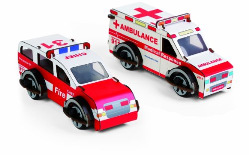Kids Preferred Buildex Rescue Ranger and Medic Machine
