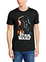 Star Wars Camiseta Manga Corta Vader Distorted (Negro)