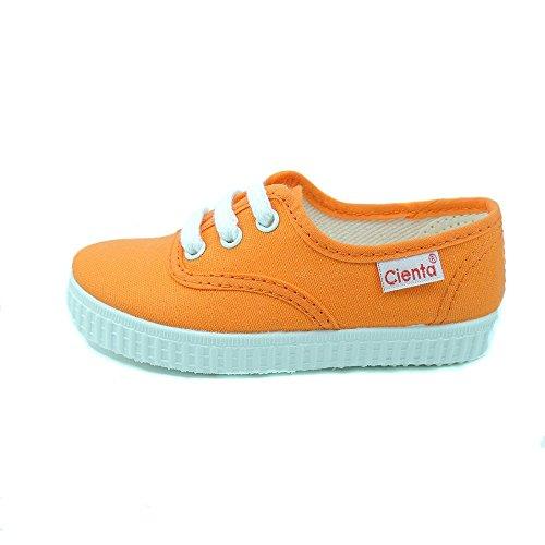Cienta-Scarpe in tela, con laccetti, ragazzo Arancione Size: 21