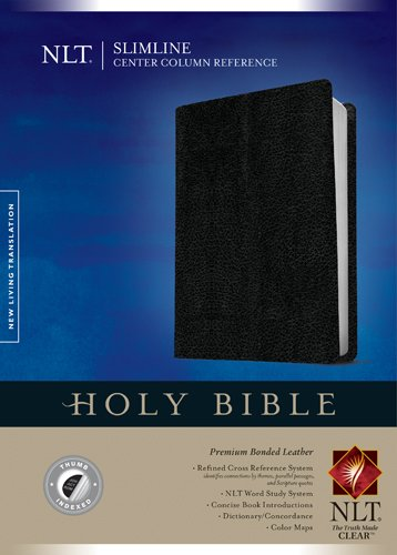 Slimline Center Column Reference Bible NLT PDF