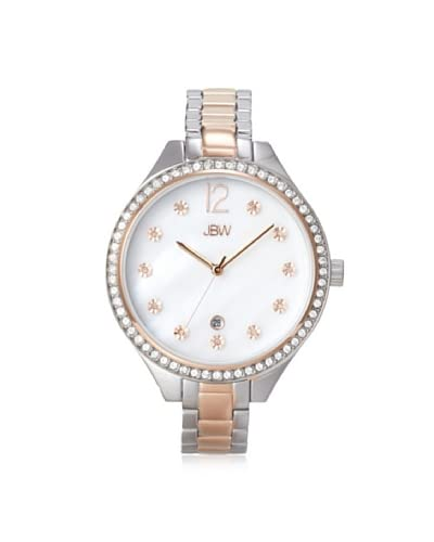 JBW Women's J6289C Mia Rose/Mother of Pearl Stainless Steel Watch