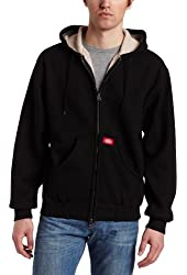 Dickies Men's Bonded Waffle Knit Hooded Jacket