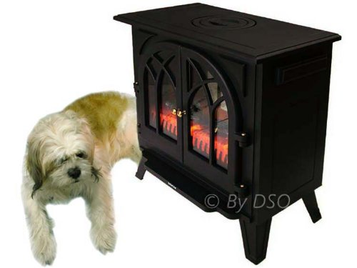 Kingavon Extra Large 2KW Traditional Electric Stove Heater CH601
