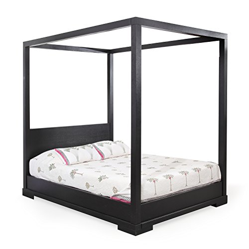 Forzza Miri 4 Poster Queen Size Bed (Wenge)