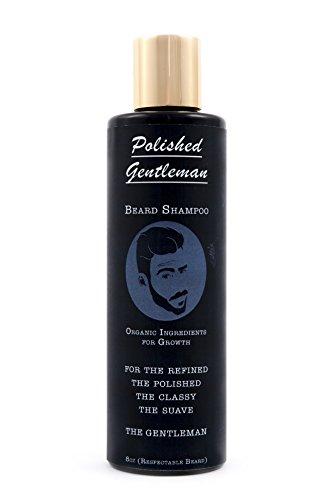 Polished-Gentleman-Beard-Growth-and-Thickening-Shampoo-With-Organic-Beard-Oil-For-Best-Beard-Look-For-Facial-Hair-Growth-Beard-Softener-for-Grooming-4oz-Small-beard