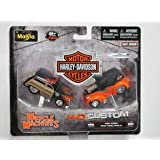 Harley-Davidson Muscle Machines 1950 Ford/ 1948 Ford Anglia (Tamaño: 1:64)