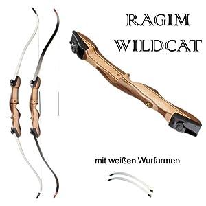 Recurvebogen Ragim WILDCAT Take Down + Set I + 4 Fiberglaspfeile von Ragim/Tamars