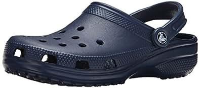 Crocs Classic, Unisex-Erwachsene Clogs, Blau (Navy 410), 36/37 EU