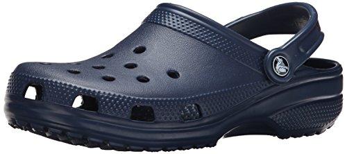 Crocs Unisex Classic Clog, Navy, Women
