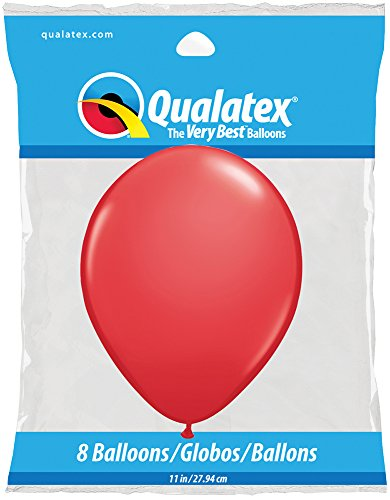 "Pioneer Balloon Company Popular Latex Balloons (8 Pack), 11"", Assorted"
