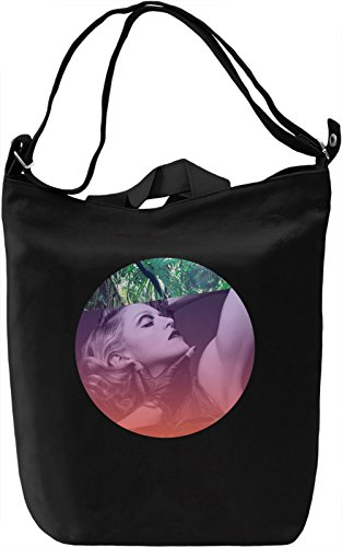 Legendary Singer Actress Portrait Borsa Giornaliera Canvas Canvas Day Bag| 100% Premium Cotton Canvas| DTG Printing|