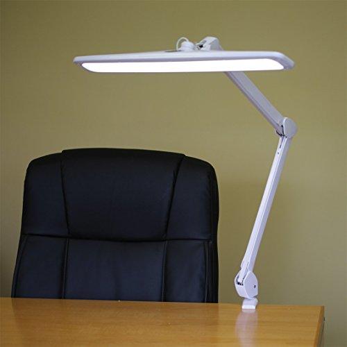 Premium Smd Led Table Mount Desk Lamp - Adjustable Spring Arm - 100,000 Hours