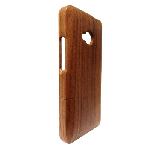 Handcrafted Black Walnut 100% Natural Wood Case Htc One M7 Wood Cover Skin For Htc One M7 Wood Cases Skins Covers