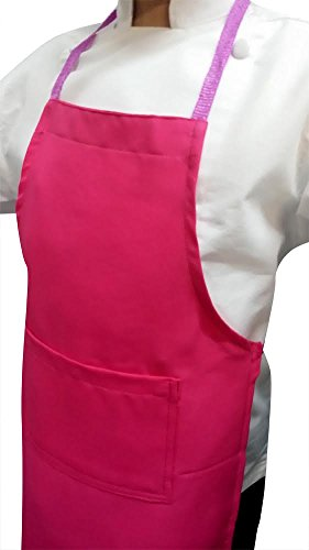chefskin-lot-of-15-kids-apron-fits-kids-2-7-yrs-old-17x21-set-pak-choose-colors