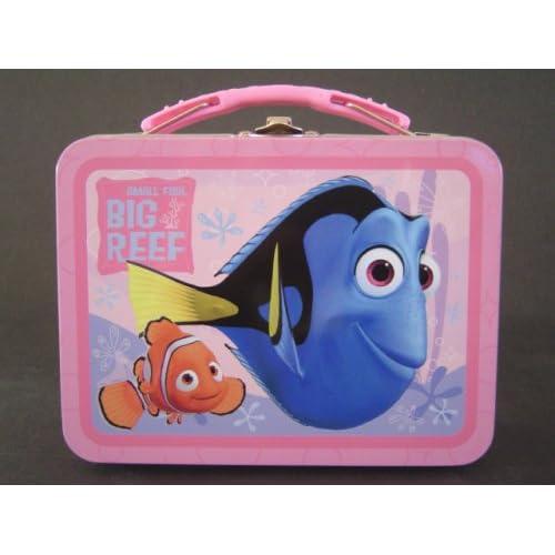 Amazon.com: Finding Nemo Mini Tin Lunch Box / Pencil Box