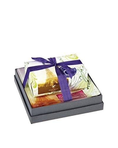 Mudlark Almond Soap Bar & Dish with Gift Box, Multi
