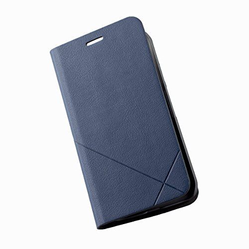 Pudini Squirrel Dot Series Flip Stand Case Cover for Motorola Moto g3 Moto g 3rd Gen Generation with Free Screenguard - Navy Blue