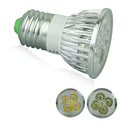 Voberry Ultra Bright E27 Led Spot Lights Lamp Bulb 15W 60 Degrees 85-265V Cool White (Coolwhit)