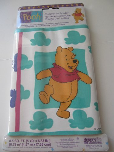 Disney Pooh Decorative Wall Border - 1