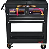 Torin Work Cart with Top Tool Box - 28in.L x 15in.W x 33in.H, Model# TC310