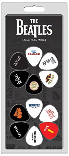 Perris Leathers LP12-TB2 The Beatles Guitar Picks, 12-Pack