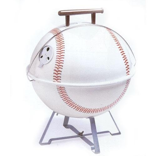 Charcoal Companion Portable Baseball Barbeque Grill