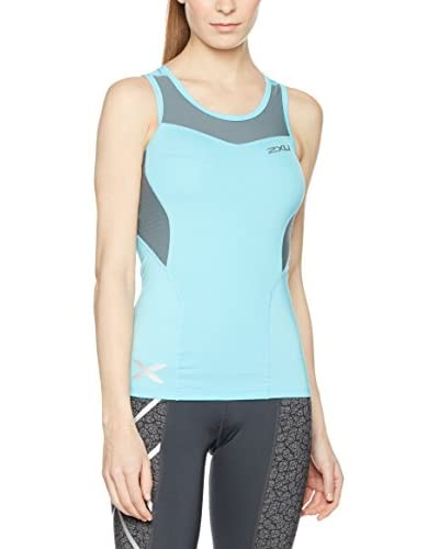 2XU Top Base Compression  [Blu]
