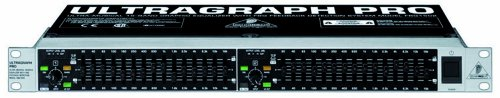 Behringer FBQ1502 Ultragraph Pro 15 Band Stereo Graphic Equalizer