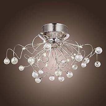 lampadario di cristallo moderno con 11 luci