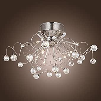 Lampadario di cristallo moderno con 11 luci - Amazon lampadari cucina ...