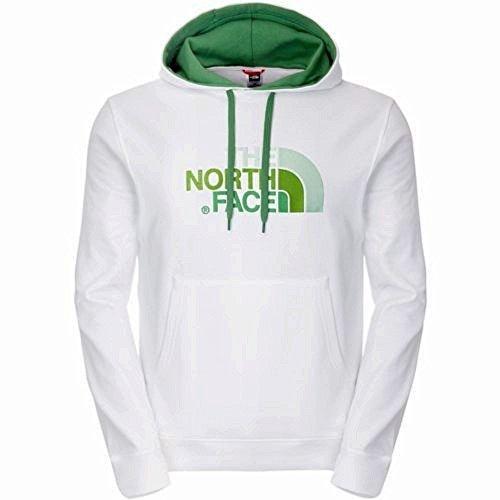 The North Face M DREW PEAK - Pullover Hoodie TNF White (taglia XXL) felpa con cappuccio uomo