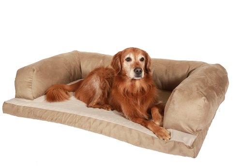 Caddis Beasley's Couch Dog Bed Tan Medium 25