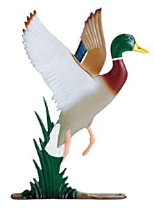 Whitehall Products Duck Weathervane, 30-Inch, Rooftop Color
