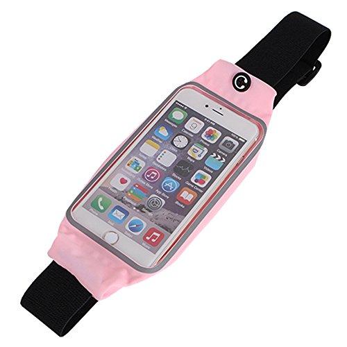 Fenrad-Sport-Elastische-Bauchtasche-Hfttasche-Lauftasche-Running-Belts-Laufgrtel-mit-Kopfhrer-Wagenheber-Passt-Apple-iPhone-6-Plus-6s-Plus-55-Samsung-Galaxy-S6-Edge-und-PlusMeisten-Smartphones-55-6-Zo