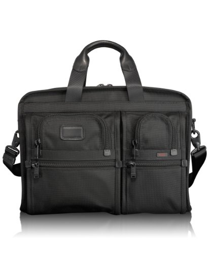 Tumi Alpha Organizer Brief 026109DH,Black,one size