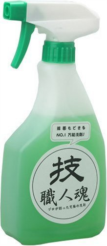 業務用万能洗剤 技・職人魂 万能職人 スプレーボトル 500ml