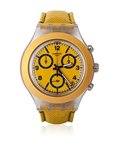 Swatch Quarzuhr Unisex MUSTARDY SVCK4069 43 mm